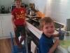 Boys in Kitchen